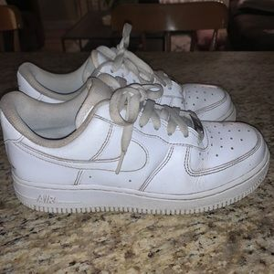 Nike Women's Air Force 1s. Used. Size 7